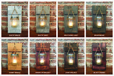 Handmade Mason Jar Candle Sconce, Candle Holder, Rustic Home Decor, US Seller