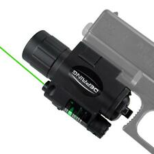 Tactical Green Laser or Red Laser Sight with 200 LM Flashlight Combo fits 20mm