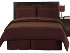 BRAND NEW US BEDDING COLLECTION ITEMS - 1000 TC 100% EGYPTIAN COTTON BROWN SOLID