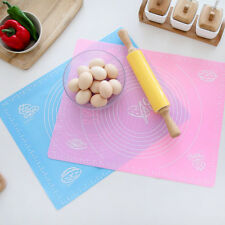 Silicone Dough Rolling Mat Baking Mat Pastry Clay Pads Sheet Liner Non-Stick 1 x