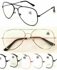 R3025 Metal Aviator Sun-Reader OR Clear OR Bifocal Reading Glasses Stylish Pilot