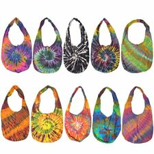 Fashion Colourful Tie Dye Shoulder & Crossbody Bag Messenger Purse Thai Handmade