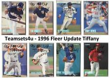 1996 Fleer Tiffany Update Baseball Set ** Pick Your Team **