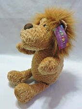 """Pappa Geppetto Lion Puppet Plush Stuffed Animal Pretend Play Toy 13"""" Brown"""