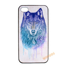 Wolf Coyote Wild Animal Hard Clear Case Cover Skin for Apple iPhone 4 4S