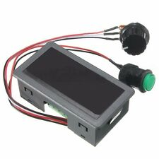 DC 6-30V 12V 24V MAX 8A Motor PWM Speed Controller With Didital Display Switch K