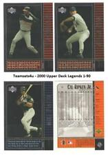 2000 Upper Deck Legends (Base 1-90) Baseball Set ** Pick Your Team **