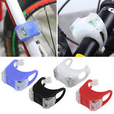 1Pcs Bike Bicycle MTB LED Frog Head Front Lamp Warning Rear Flash Light LZ