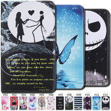 Magnetic Card Pouch PU Leather Case Folio Stand Cover For Apple Samsung Tablet