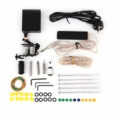 Complete Tattoo Kit Set Equipment Machine Needles Power Supply Gun Inks New LR