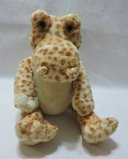"Animal Alley Crocodile Alligator Plush Stuffed Toy Soft 15"" Spotted Tan Cute"