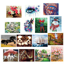 MagiDeal Unframed DIY Paint By Number Kit Painting Home Wall Decor Gift