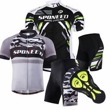 Race Cycling Jersey Suits Men's Bike Clothing Spinning Biking Short Tights Pants