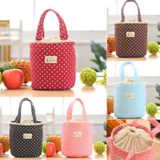 Fishion Thermal Insulated Lunch Box Cooler Bag Tote Bento Pouch Lunch Container