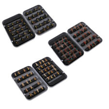 MagiDeal 40pcs Trout Dry Fly Fishing Flies Insects Lure Baits Fishing Tackle