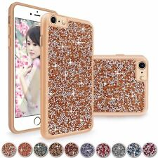 Luxury Crystal Diamond Bling Shockproof Case Cover For Apple iPhone 6 6S Plus