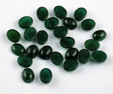 Wholesale Lot Rare Green Aventurine Oval Smooth Cabochon Handmade Loose Gemstone