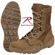 Rothco V-Max Lightweight Tactical Boot - AR670-1 Coyote Brown Mens Military Boot