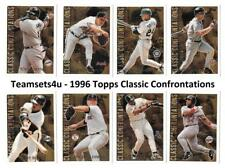 1996 Topps Classic Confrontations Baseball Set ** Pick Your Team **