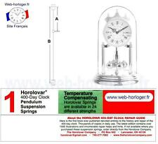 Wire for suspension Pendulum Clock 400 Days Horolovar - Bergeon - Eufor