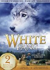 White Fang/Time of the Wolf/Legend of Wolf Mountain (DVD, 2013, 3-Disc Set)