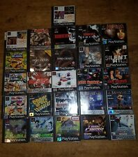 Sony PSone 1 Playstation games - CHOOSE FROM THE LIST - Very Rare Games VG Con