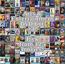 Arts & Entertainment DVD Lot #1: DISC ONLY - Pick Items to Bundle and Save!