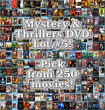 Mystery & Thrillers DVD Lot #5: DISC ONLY - Pick Items to Bundle and Save!