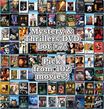 Mystery & Thrillers DVD Lot #7: DISC ONLY - Pick Items to Bundle and Save!