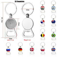 2in1 Key Ring Chains Bottle Opener For 2018 Russia Football World Cup Soccer Fan