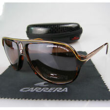 New Men Women Retro Sunglasses Leopard Frame Carrera Glasses+Box C02