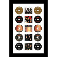 Large Cd/ Music Cover Queen Music Memorabilia To Fit Cd And Album – White Mount