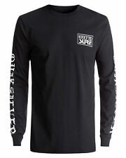 NEW QUIKSILVER™  Mens Ghetto Surf Long Sleeve T Shirt Tee Tops