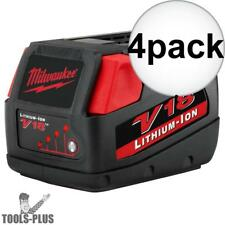 Milwaukee 48-11-1830 4x V18 Lithium-Ion Battery Pack New