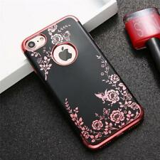 Flower Phone Cases Iphone 7 6 6s Plus Case Soft TPU Silicone Floral Butterfly
