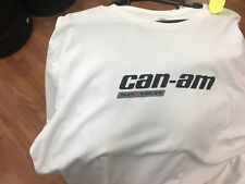 Canam Spyder Signature White tshirt 453590 F3 RT RS GS ST