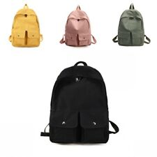 Canvas Backpack Travel Simple Schoolbag Shoulder Rucksack Fashion Women I0167