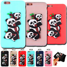 Cute TPU Soft Cover Skin Silicone Back 3D Case For Apple iPhone 6 Plus/6S Plus