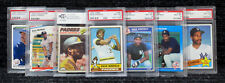 Dave Winfield / PSA Graded Cards / Hall of Famer / Padres / Yankees