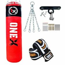 5ft Filled Heavy Punch Bag Professional Training,Filled Unfilled MMA Bags Punch