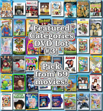 Featured Categories DVD Lot #3: DISC ONLY - Pick Items to Bundle and Save!