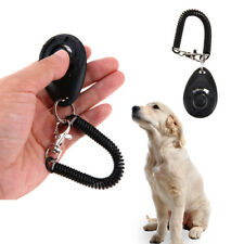 Puppy Whistle Obedience Button Aid Wrist Strap  Training Dog Pet Clicker Trainer