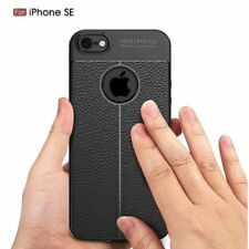 Shockproof Luxury Hybrid Soft Leather Full Cover Case For Apple iPhone 5 5S SE