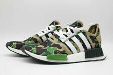 Camo Lace-up Shark Running Shoes Men's Bape Athletic Sneakers A Bathing Ape