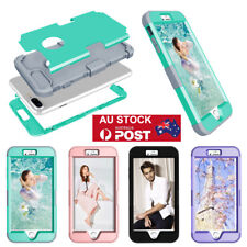 Hybrid Rugged Heavy Duty Shockproof Rubber Hard Case Cover For iPhone 8 5.5'' AU