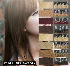Straight Micro Bead Loop Ring Remy 100% Human Hair Extensions 20 inch