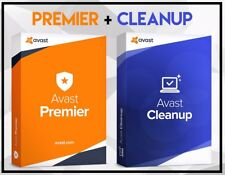 Avast Premier 2018 + Avast Cleanup Premium - License for 5 Years