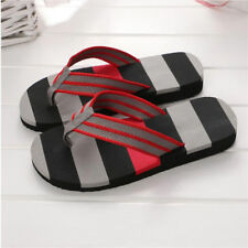 Mens Casual Flip Flops Shoes thong sandals for summer skidproof indoor slippers