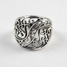1 Pcs Beautiful Floral Design 925 Sterling Silver High Polished Ring Jewellery