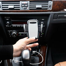 Dual USB Car Charger Holder Mount With Cigarette Lighter Chargers for HTC LG AU